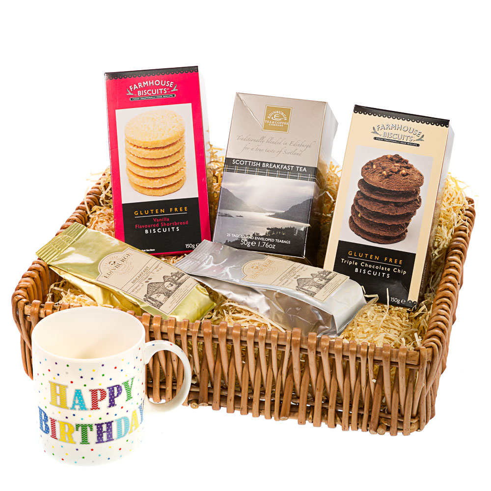 Gifts baskets pies hampers and deli gluten free happy birthday negle Choice Image