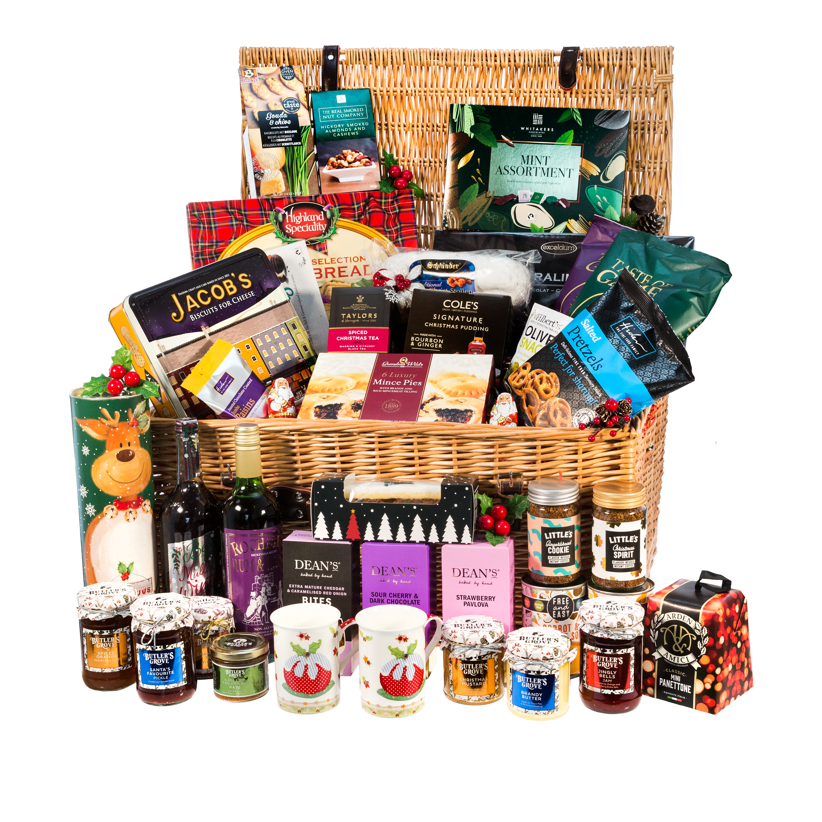 What Shall We Get For Mum Dad Christmas Gift Hamper 176 95 Uppercrust Pies